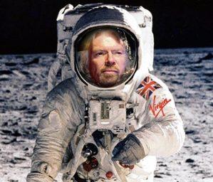 Branson on the Moon