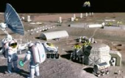 Jointly Controlled Moon Base