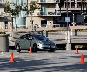 Driverless Car photo by Steve Jurvetson