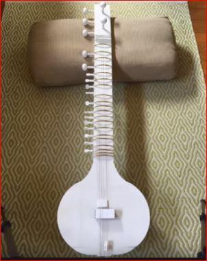 3D printed sitar